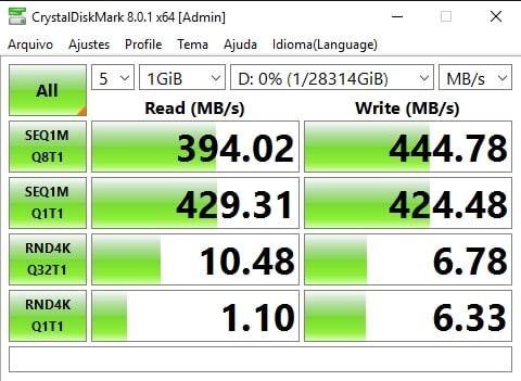 4x ST16000VN001 em RAID-10