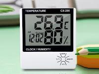 Cara Mengukur Suhu Ruangan Dengan Aplikasi Smartphone dan Manual