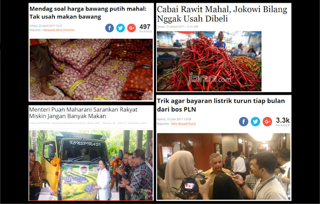 Mati Ketawa Ala Jokowi: Dari Cabai Mahal Nggak Usah Dibeli, Hingga Cabut Meteran Supaya Tarif Listrik Turun