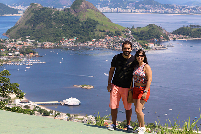 Vista do Mirante do Parque da Cidade Niterói
