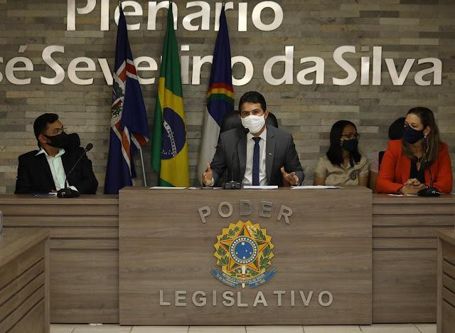 Audiência sobre o transporte público em Escada contou com a presença do deputado Romero Sales Filho