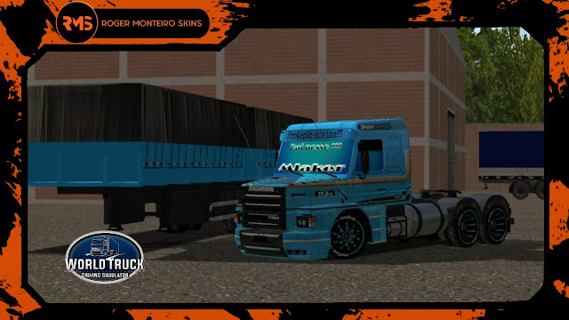 SKINS WTDS, SCANIA 113H, 113H, 113, SKINS WTDS