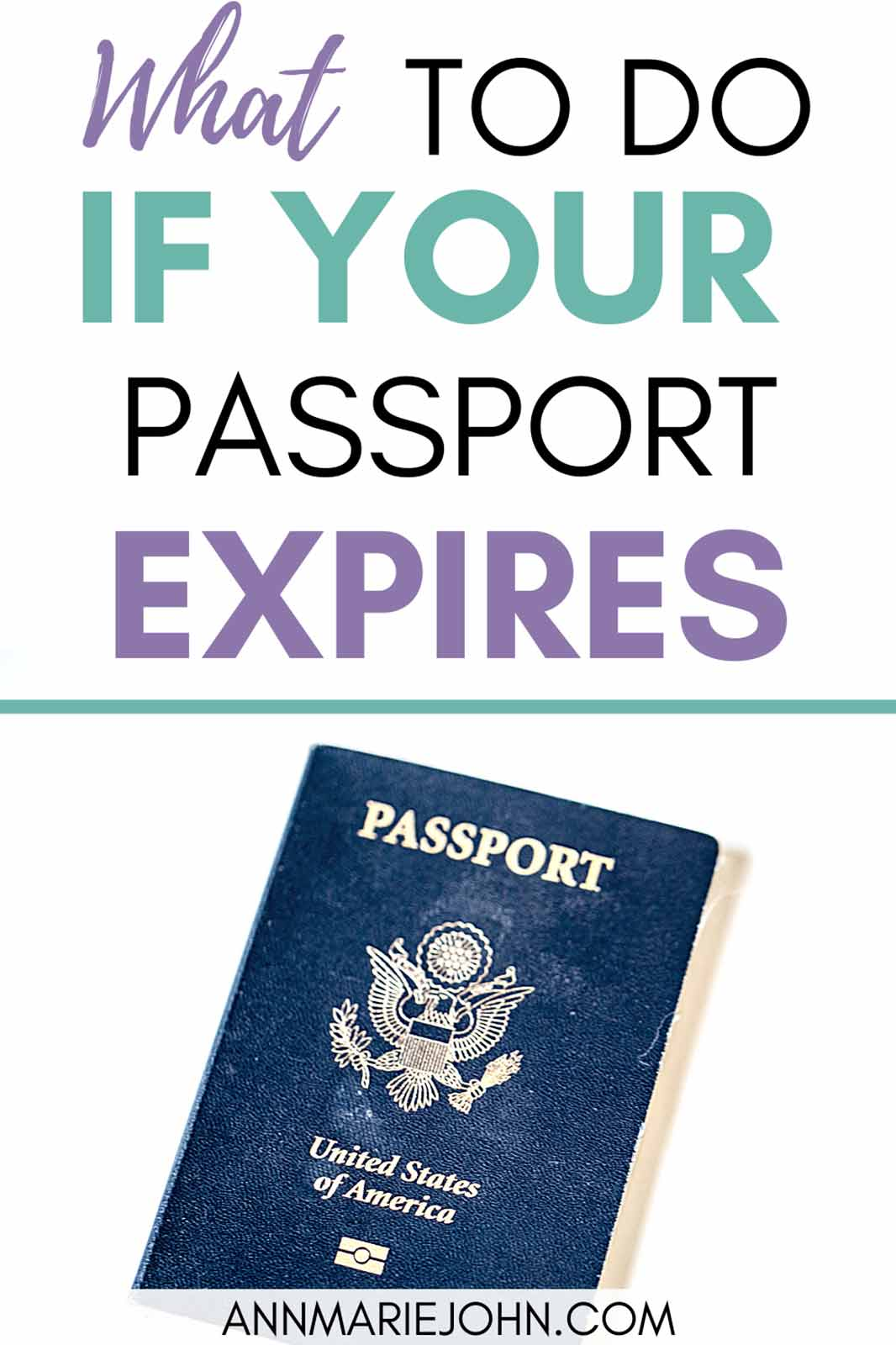 What to Do if Your Passport Expires