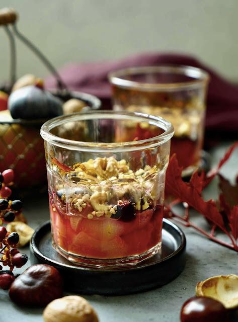 fruits d'automne , recette équilibrée , cuisine de saison