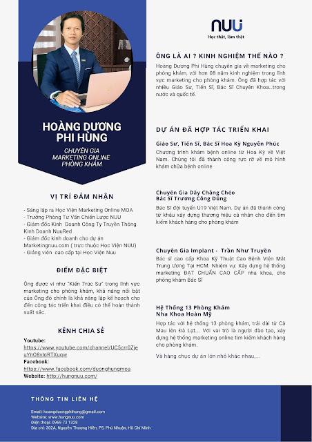 Dương Hùng Marketing Cho Phòng Khám