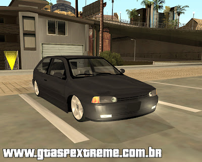 Vw Gol G2 Turbo Edit para grand theft auto