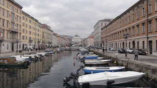 Photo of the Grand Canal in Trieste