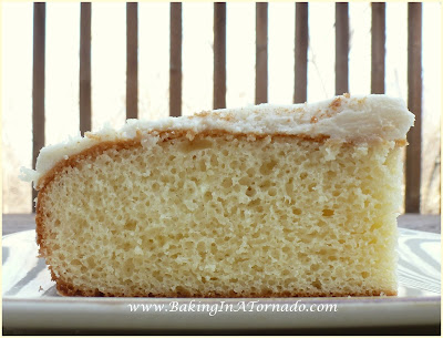 Not-So-Plain Vanilla Cake | www.BakingInATornado.com | #recipe #cake