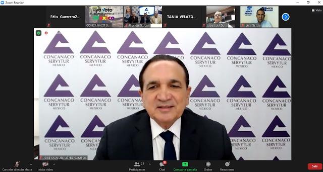 Concanaco Servytur tendrá su centro de capacitación para formación online y presencial
