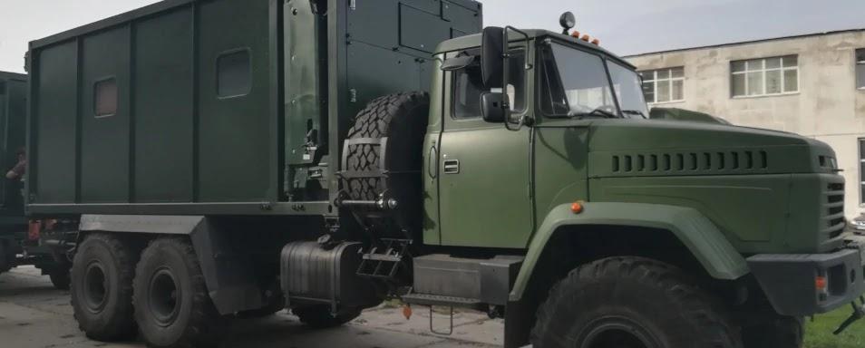 ЗСУ отримали рухомий командний пункт – трансформер