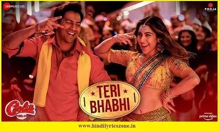Teri Bhabhi Khadi Hai Lyrics In Hindi