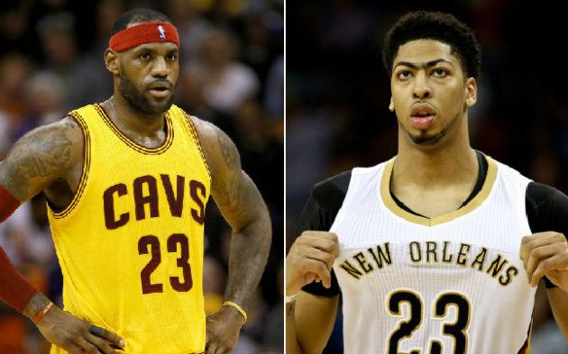 Si la logique est respectée, LeBron James devrait permettre aux Cleveland Cavaliers de gagner chez les New Orleans Pelicans d'Anthony Davis