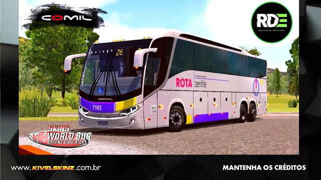 COMIL 1200 6X2 - VIAÇÃO ROTA TRANSPORTES