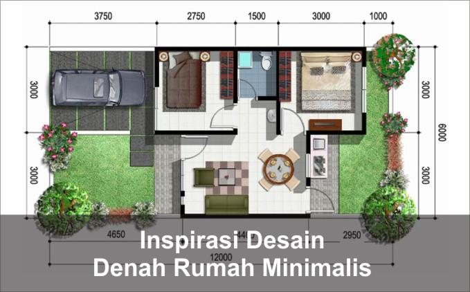 denah rumah minimalis 2020