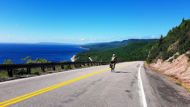 Cycling Canada's Cabot Trail, a great road cycling trip