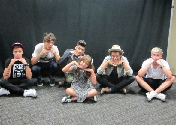 My top 6 one direction photos with fans 6yearsofonedirection the meet and greet photos which are nothing like your average meet and greet photos are always the best right this one is too sweet for words m4hsunfo
