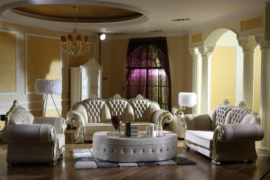 Luxury Classic LIVING ROOM FURNITURE Sets - Home Furniture ...