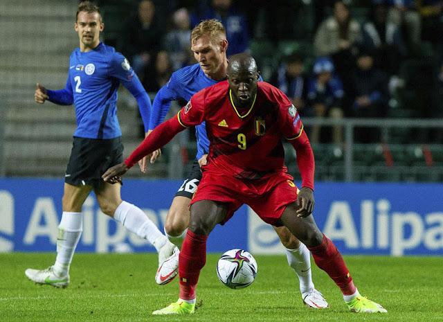 ملخص واهداف مباراة بلجيكا واستونيا (5-2) تصفيات كاس العالم