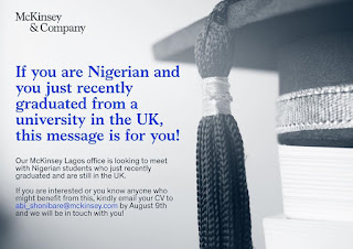 Nigerian Graduate Recruitment at McKinsey & Company