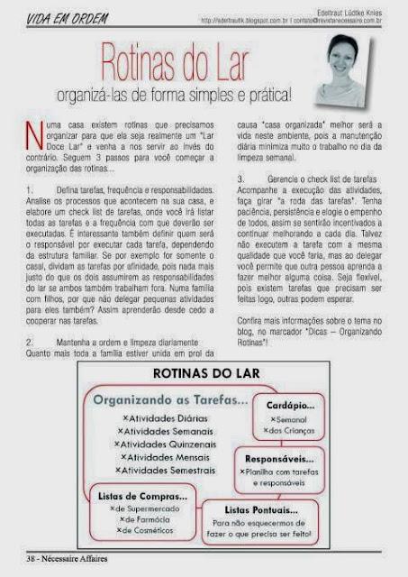 Rotinas do Lar | Como organizá-las de forma simples e prática!