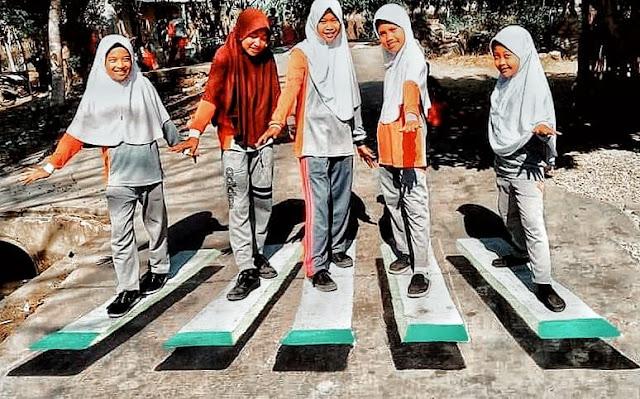 Gang 3D Pondok Soga Desa Pantai Hurip Babelan