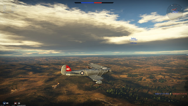 Screenshot from War Thunder