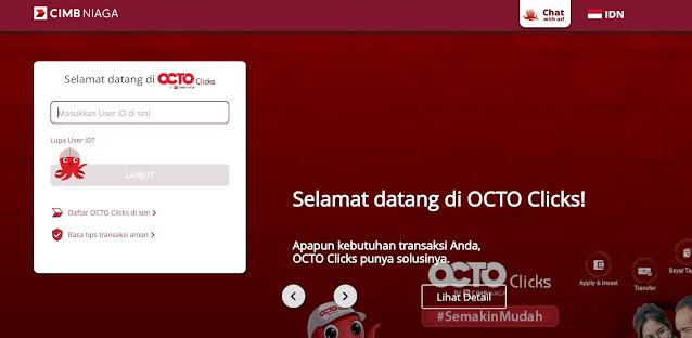 Deposito CIMB Clicks