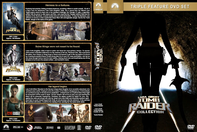 Tomb Raider Collection DVD Cover