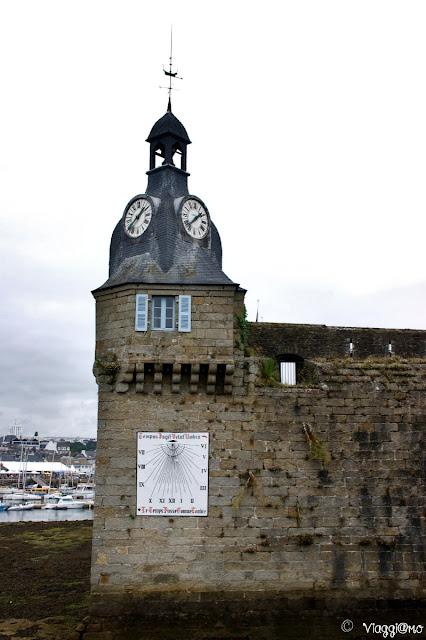 La Torre dell'Orologio e la Meridiana di Concarneau