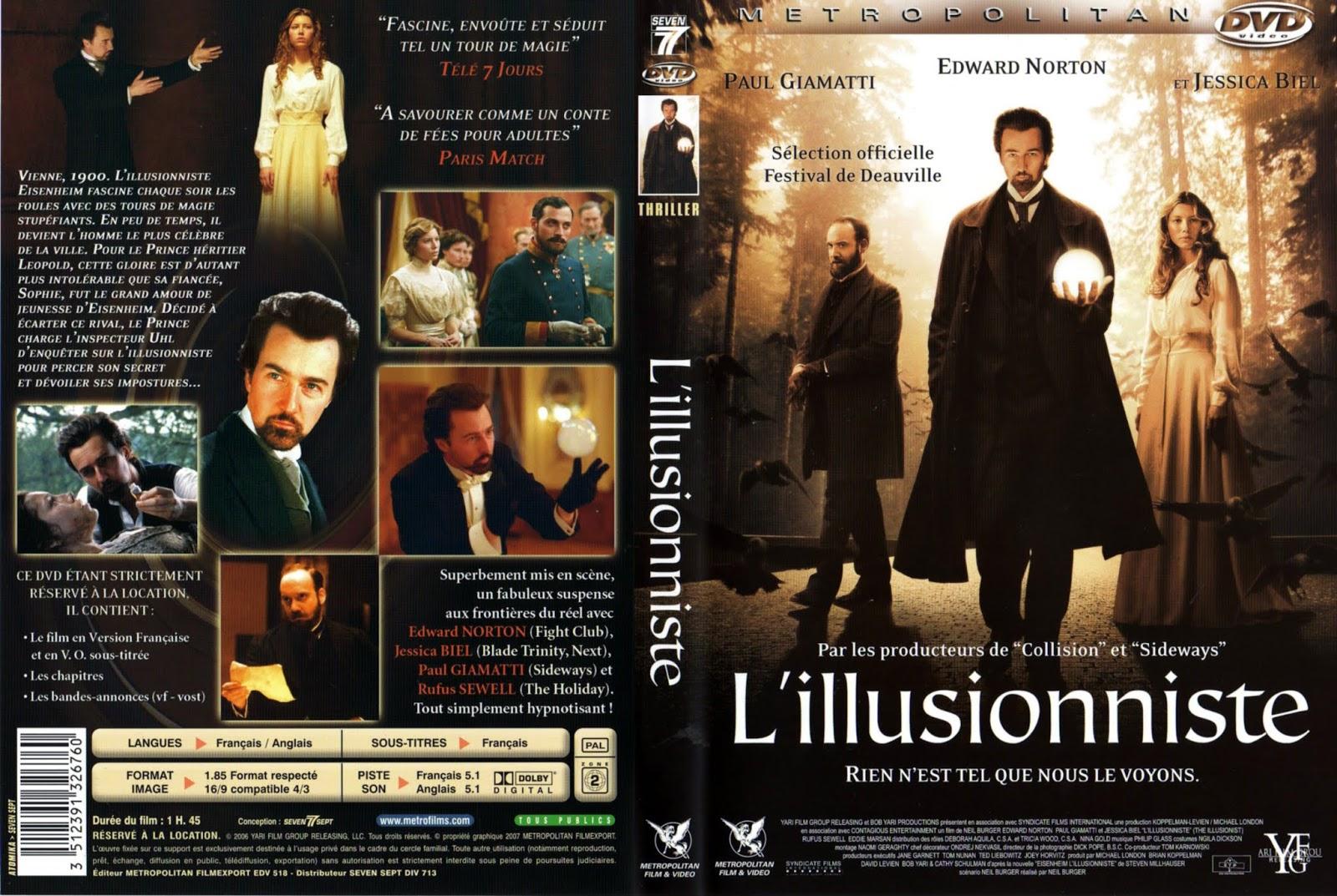 LILLUSIONNISTE FILM TÉLÉCHARGER LE