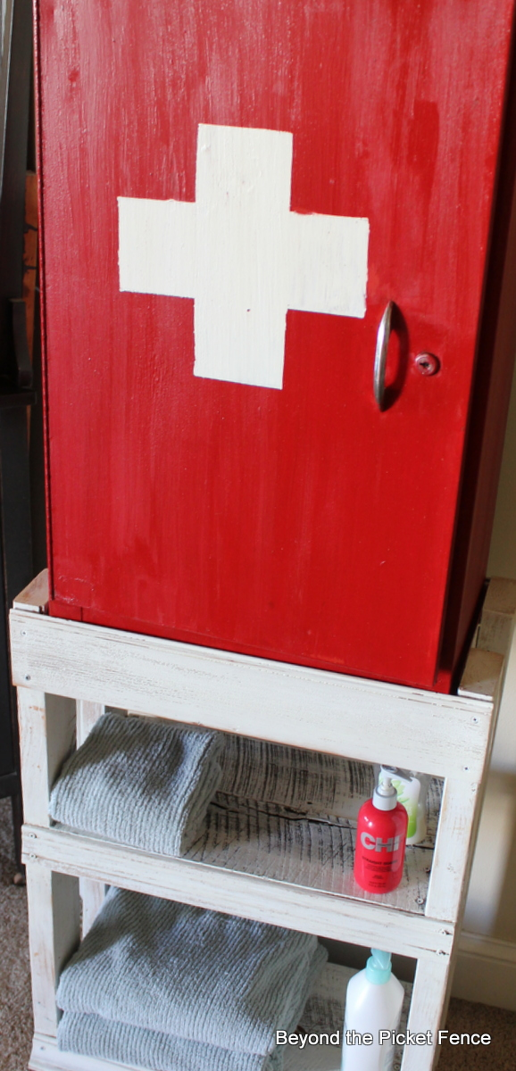 Beyond The Picket Fence Cabinet First Aid