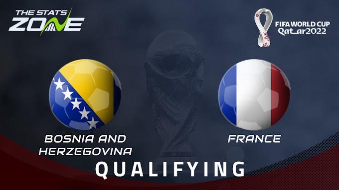 مشاهدة مباراة البوسنة والهرسك و فرنسا بث مباشر