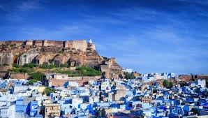 The blue city of india