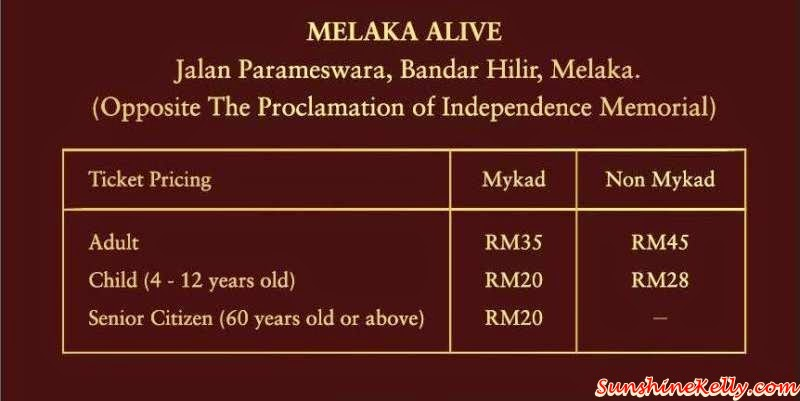 Melaka Alive, 5D Experience, Malacca, Alive Theatre, Cultural Show, Melaka Alive Ticket Price