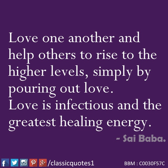 Love One Another Quotes Glamorous Classic Quotes Love One Another And Help Others To Rise To The
