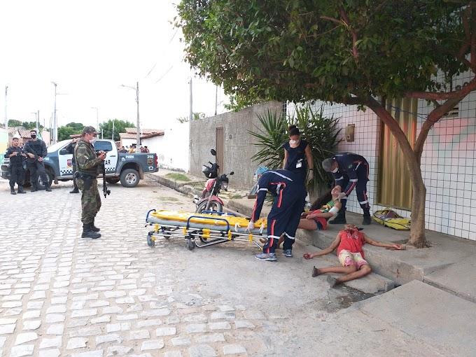 Ataque a tiros deixa dois mortos e dois feridos no Conjunto Redenção