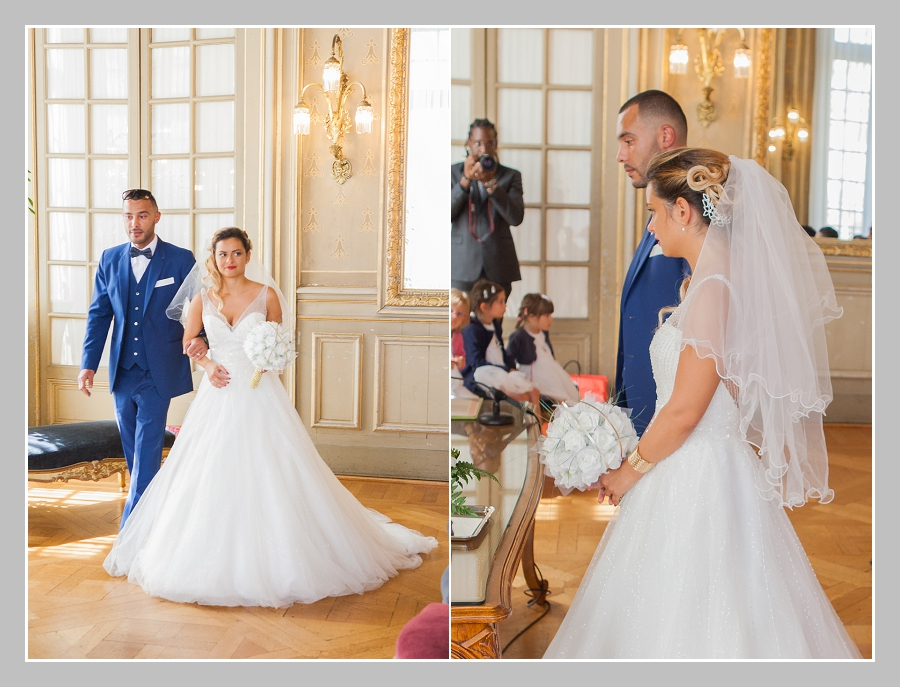 photo de mariage mairie de Rennes