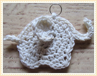 free elephant applique crochet pattern