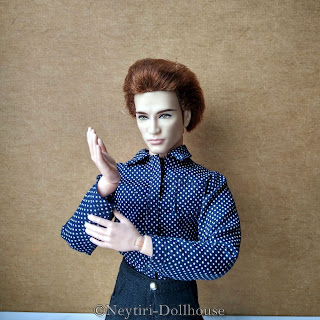 BMR Ken Twilight Edward dolls rebody