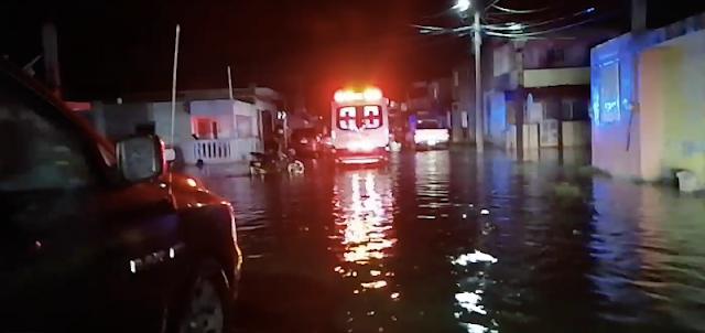 Progreso bajo agua: se hunden al menos 50 lanchas en La Caleta