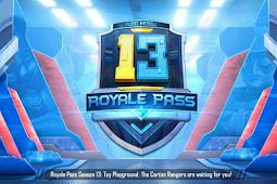 Daftar Hadiah Royale Pass PUBG Mobile Season 13 Terbaru