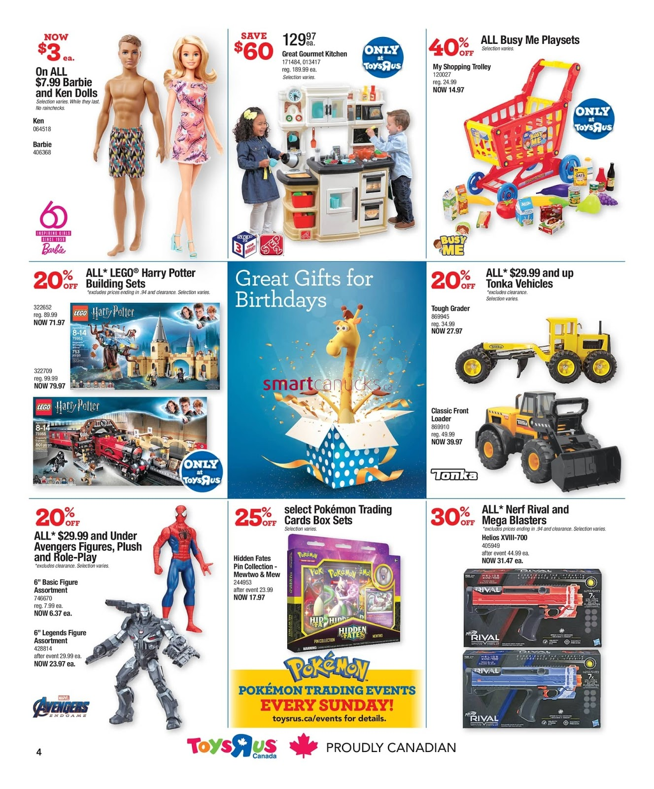 Toys R Us Flyer Out Door & Play valid September 6 - 12, 2019