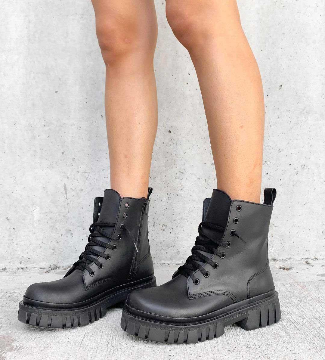 borcegos años noventa borceguies moda invierno 2021 calzado femenino