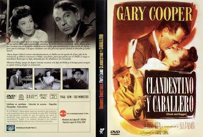 cover, dvd, caratula: Clandestino y caballero | 1946 | Cloak and Dagger