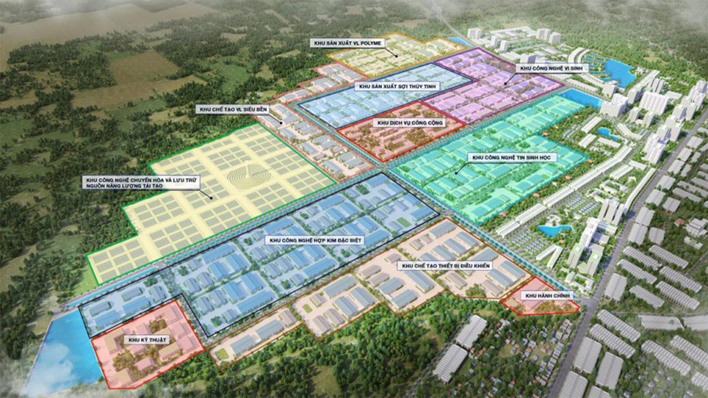 Thủ tướng phê duyệt Khu Công Nghệ Cao 600ha Hắc Dịch tại Phú Mỹ  - Ảnh 3