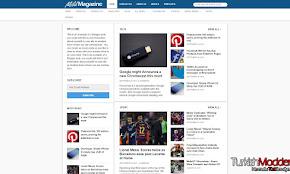 Blogger Mild Magazine Teknoloji Teması