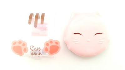 Tonymoly Cats Wink Clear Pact (01 Clear Skin)