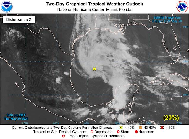 Alta probabilidad de primer ciclón subtropical en el Atlántico