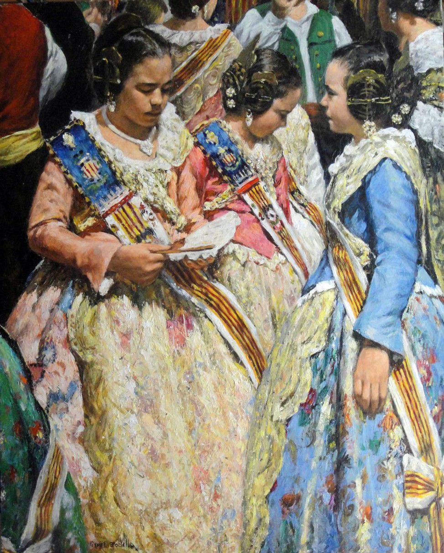 Valencianas pintadas giner godella - Pintor valenciano ...