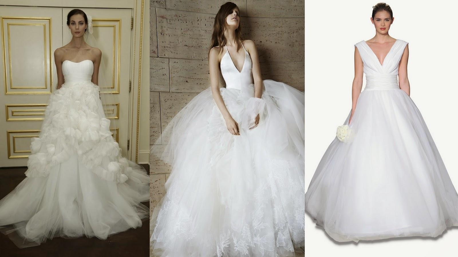 Trendy na rok 2015: Suknie ślubne